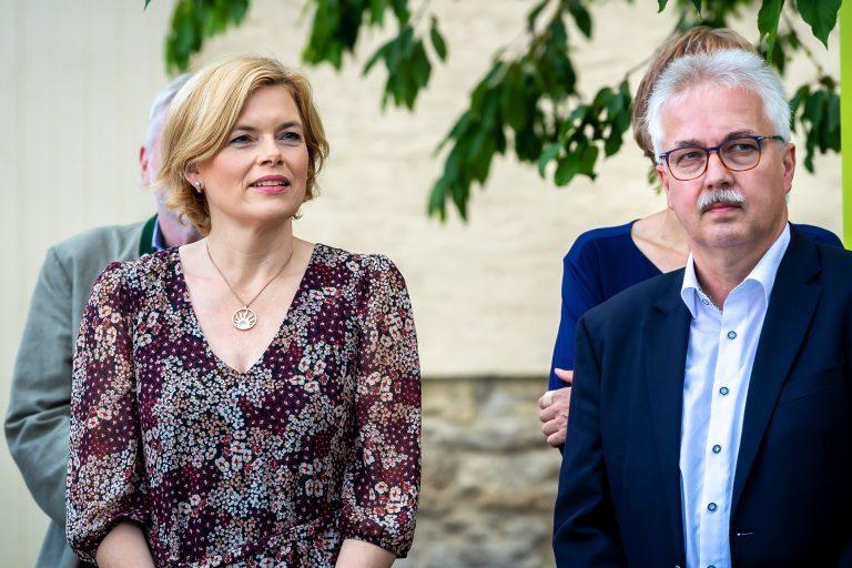 Read more about the article Landwirtschaftsministerin Frau Julia Klöckner zu Besuch