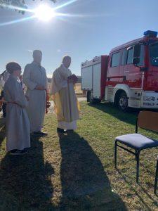 Read more about the article Heiliger Donatus – Schutzpatron der Feuerwehr Niesen