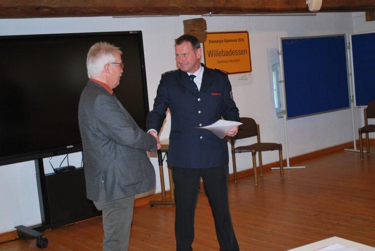 Read more about the article Neue Feuerwehrführung der Stadt Willebadessen